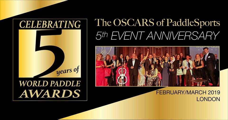 world paddle awards five 5 years anniversary canoe kayak sup boat