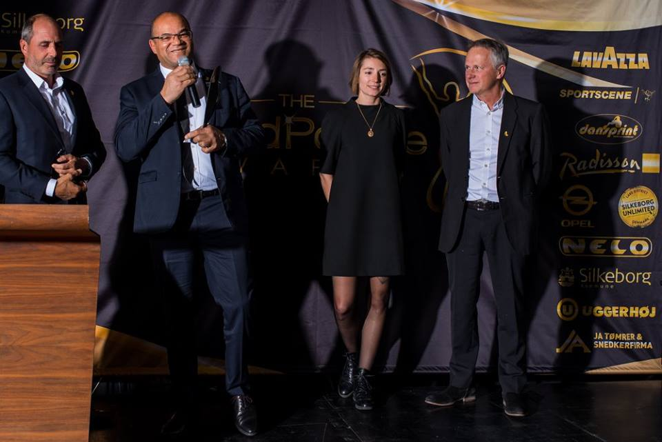 winners world paddle awards canoe kayak silkeborg denmark 2017 2018 Jean Zoungrana Clemence Mathieu and Christophe Prigent