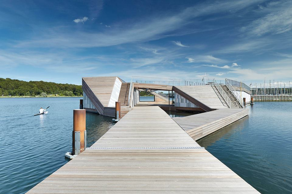 canoe kayak denmark floating club architecture industry professional world paddle awards nominee sportscene nelo