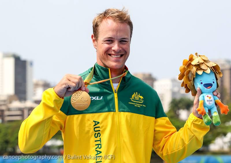 curtis mcgrath world paddle awards canoe kayak paralympics para canoeing rio 2016 world champion australia sportscene nelo