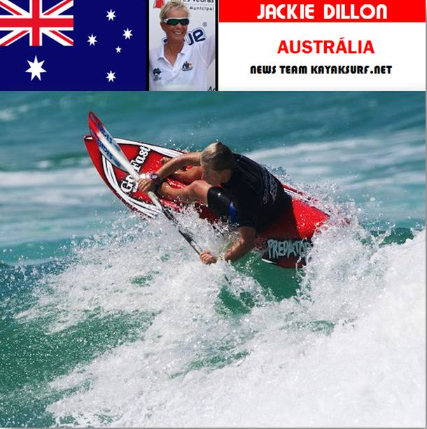 jackie dillon canoe kayak waveski australia world paddle awards nominee 2018 lifetime achievement