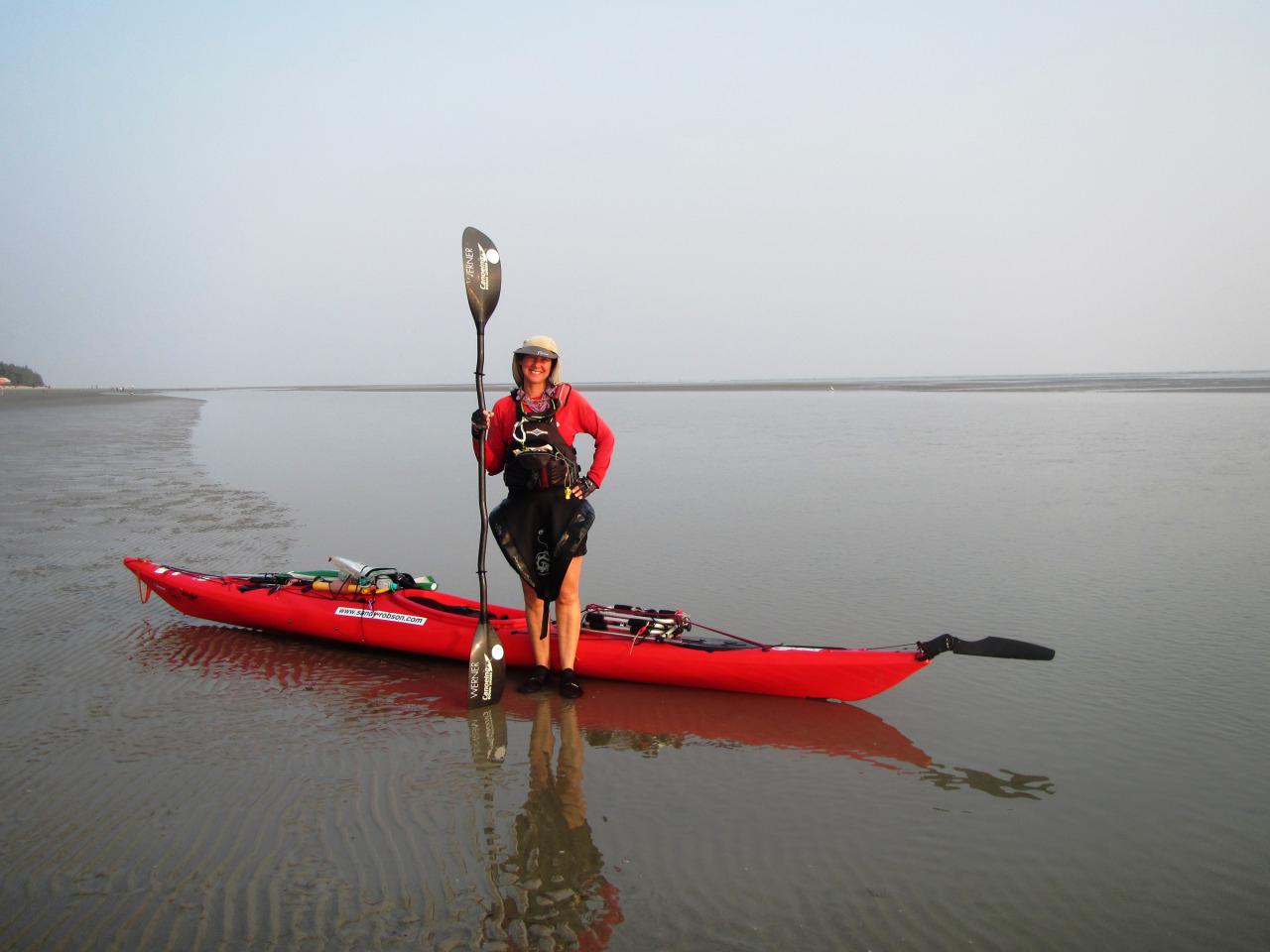 sandy robson canoe kayak australia nominee sportswoman year world paddle awards