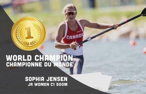 nowe tanie najlepszy wybór oficjalna strona 2018 Sophia Jensen - Canada | 2018 Nominees | World Paddle ...