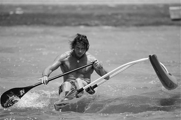 Steve West outrigger sup ocean writer media surfski 2014 world paddle awards golden nominee ambassador nelo noc sportscene