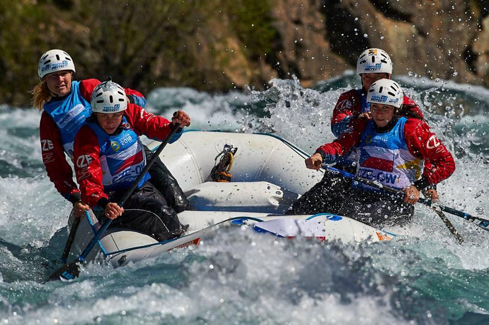 team TR Omega Czech Republic 2018 nominee world paddle awards rafting Michaela Kratochvílová Pavla Procházková Zuzana Valtrová Lenka Vandasová