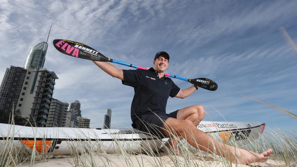 Cory hill Australia nominee 2018 sportsman world paddle awards ocean ski