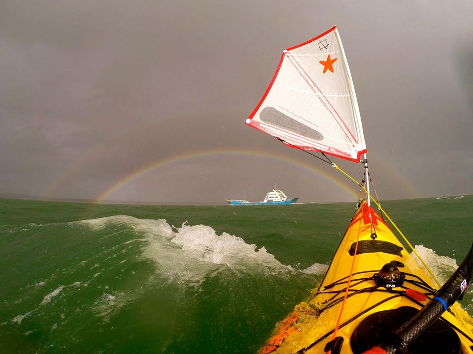 flat earth kayak sails canoe world paddle awards nominee industry professional