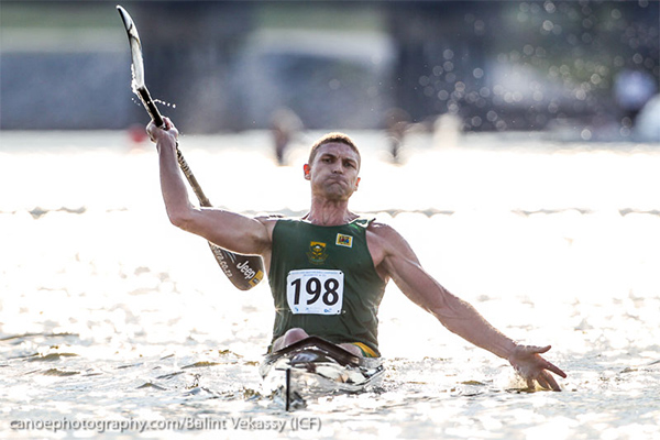 canoe kayak marathon 2014 world paddle awards golden nominee sportsman year hank mcgregor south africa noc nelo sportscene lee athlete champion