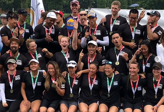 outer harbour warriors Canada mixed dragon boat crew nominee 2018 team world paddle awards