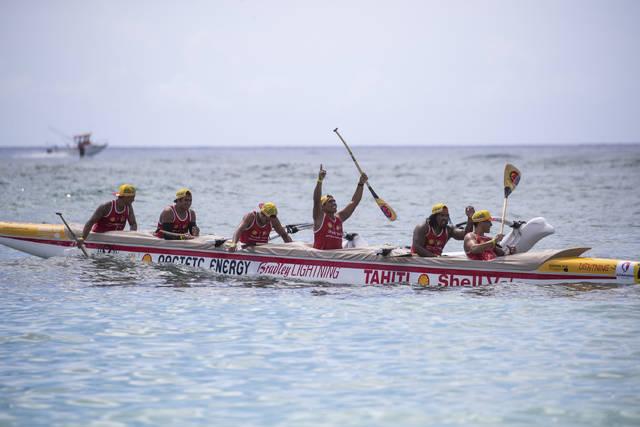 Team Shell Va's tahiti nominee 2018 team world paddle awards outrigger vaa va'a canoe kayak